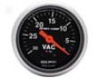 Autometer Sport-ccomp 2 1/16 Vacuum Gauge