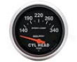 Autometer Sport-comp 2 5/8 Cylinder Top Temperature Gauge