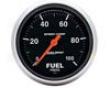 Autometer Sport-comp 2 5/8 Fuel Pressure 0-100 Gauge
