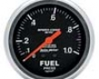 Autometer Sport-comp 2 5/8 Metric Fuel Pressure W/ Isolator Gaug
