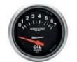 Autometer Sport-comp 2 5/8 Metric Oil Pressure Gauge