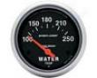 Autometer Sport-comp 2 5/8 Water Tekperature Gauge