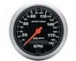 Autometer Sport-comp 3 3/8 Metric Programmable Speedometer