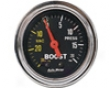 Autometer Orally transmitted Chrome 2 1/16 Booost 20 Psi/vacuum Gauge