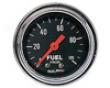 Autometer rTaditional Chrome 2 1/16 Fuel Pressure 0-100 Gauge
