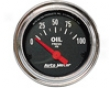 Autometer Traditional Chrome 2 1/16 Oil Pressure Gauge