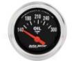 Autometer Traditional Chrome 2 1/16 Oil Temperature 140-300 Gaug