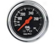 Autometer Traditional Chrome 2 1/16 Oil Temperature Gauge