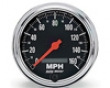 Autometer Orally transmitted Chrome 3 3/8 Prlgrammable Speedometer