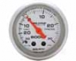 Autometer Ultra Lite 2 1/16 Boost 30psi/vacuum Gauge