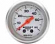 Autometer Ultra Lite 2 1/16 Boost 60 Psi Gauge