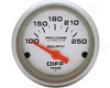 Autometer lUtra Lite 2 1/16 Differential Temperature Gauve