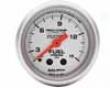 Autometer Ultra Lite 2 1/16 Fuel Pressure W/isolator Gauge