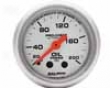 Autometer Ultra Lite 2 1/116 Oil Pressure 0-200 Gauge