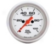 Autometer Ultra Lite 2 1/16 Oil Pressure Gauge