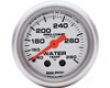 Autometer Ultra Lite 2 1/16 Water Temperature 140-280 Gauge