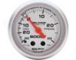 Autometer Ultra Flower 2 5/8 Boost 30psi/vacuim Gauge