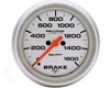 Autometer Ultra Flower 2 5/8 Brake Pressure Gauge