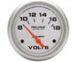 Automrter Ultra Lite 2 5/8 Voltmeter Gauge