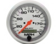 Autometer Ultra Flower 3 3/8 Programable Speedometer 200 Mph