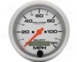 Autometer Ultra Lite 3 3/8 Programmablee Speedometer 120 Mph