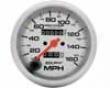 uAtometer Extreme Lite 3 3/8 Speedometer 160 Mph