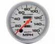 Autometer Ultra Lite 5&#34 Speedometer 160 Mph