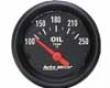 Autometer Z Series 2 1/16 Oil Temperature 100-250 Gauge