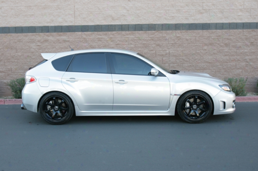 Axis Halo 18x8.5 Inch Wheel And Tire Package Subaru Sti 05+