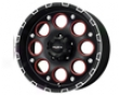 Ballistic Enigma 209x  6x135  12mm Matte Black Machined
