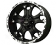Ballistic Hostel 17x9  6x139.7  12mm Matte Black Machined