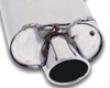B&b Catback Drain System Mercedez Slk 320 00-04