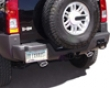 B&b Catback Exhaust System With Dual 3-1/2 Inch Double Wall Round Tips  Hummer H3 Alpha 08+