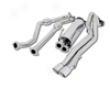 B&b Catback Exhaust Twin 4 Inch Double Wall Tips Dodge Ram Srt-10 06-07