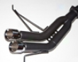 Berk Technology Racing Muffler Exhaust System Bmw 135i 07+