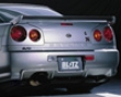 Blitz Aerospeed Rear Trunk Wing Nissan Skyline R34 99-02