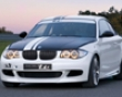 Bmw Performance Tii-look Front Bumper With Mesh Bmw 1 Succession 08+