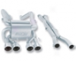Borla Catback Exhaust Chevy Corvette Z06 06-08
