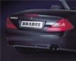 Brabus Carbon Fiber  Rear Insert Mercedes Sl R230 03-08