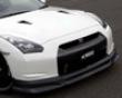 C-west Carbon Fiber Front S;oiler Nissan R35 Gt-r 09+