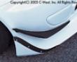C-west Carbon Front Canard Honda S2000 00+