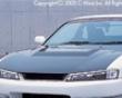 C-west Carbon Fromt Hood Nissan 240sx S14 97-98