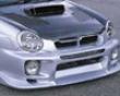 C-west Front Bumper W/ Fog Holes Subaru Wrx 02-03
