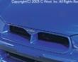 C-west Front Grill Subaru Wrx 02-03