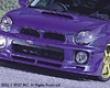 C-west Front Half Spoiler Subaru Wrx 02-03