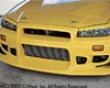 C-west N1 Front Bumper Ii Nissan Skyline Gt-r R34 99-02