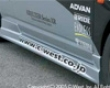 C-wwest Pfrp Side Skirts Acura Rsx Dc5 02+