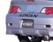 C-west Rear Bumper Acura sRx Dc5 02-04