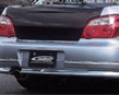 C-west Rear Half Spoiler Subaru Wrx/sti 04-06