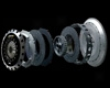 Carbonetic Twin Carbon Clutch Street Acuura Nsx 90-05
